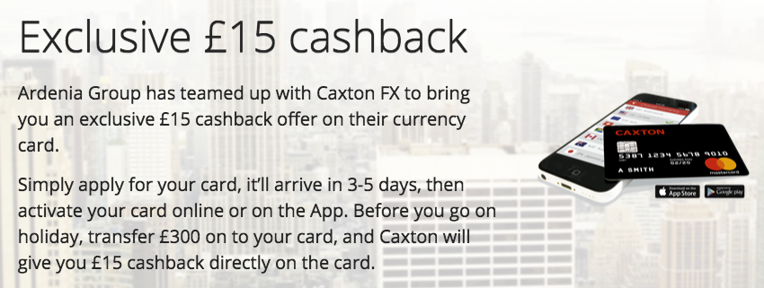15 cashback and save abroad – Travel Offers